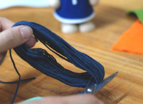 髪の毛の作り方2