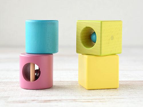 円柱積み木(小)・立方体積み木