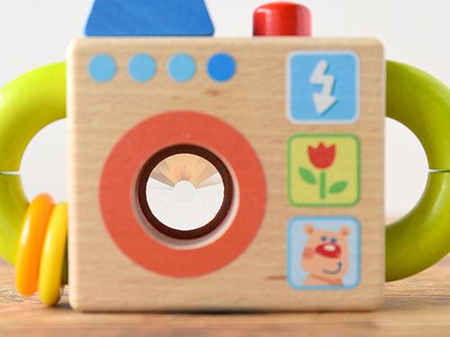 ベビタルカメラ 名入れ/HABA