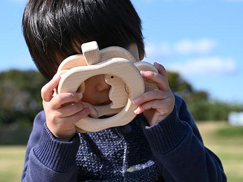 森のりんご(りす)/使用例