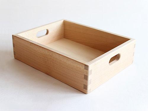 寄木の積木 木箱