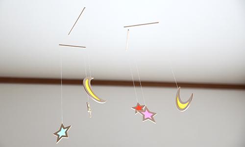 モビール 月と星 使用例2