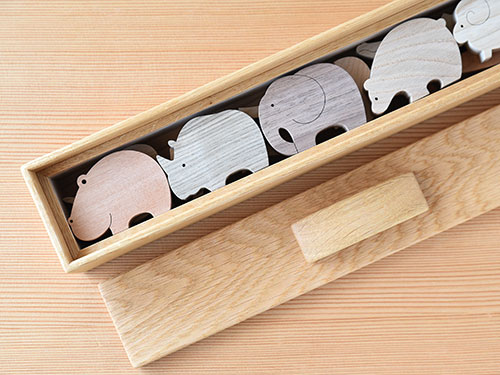 バランスアニマル/木箱