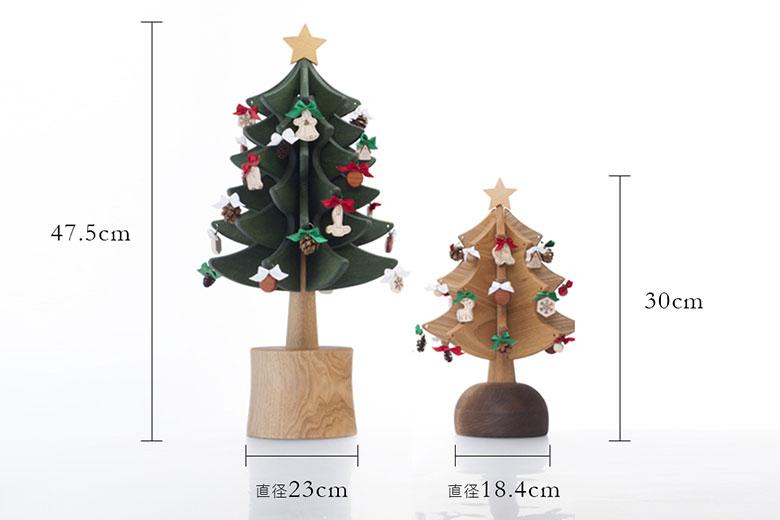木製オルゴールツリー