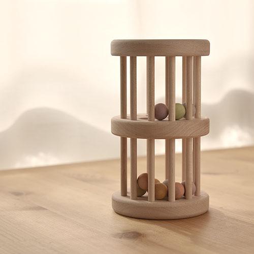 でっかい!木製ラトル|いろはタワー/エドインター