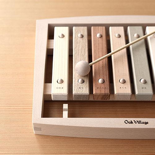 日本の森から生まれた木琴|森の合唱団/OakVillage